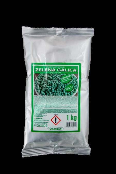 GALICA ZELENA GRANULIRANA - 1 KG AGROLIT