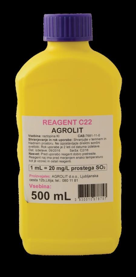 REAGENT C22 500ML - AGROLIT