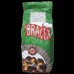 OGLJE BRIKETI BRACEX 3KG - AGROLIT